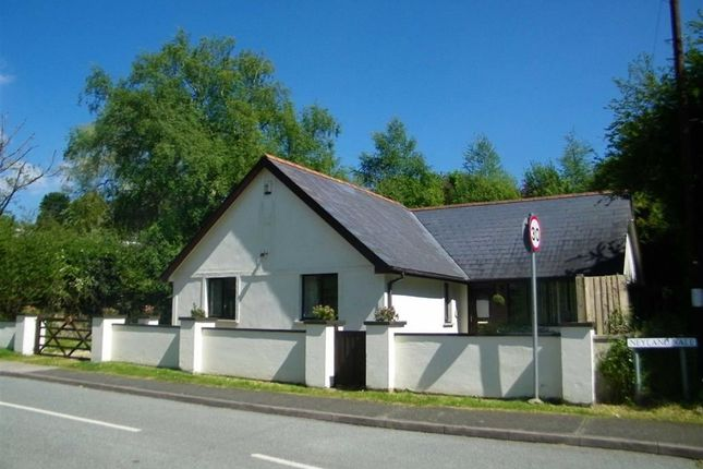 Thumbnail Detached bungalow for sale in Neyland Vale, Neyland, Milford Haven