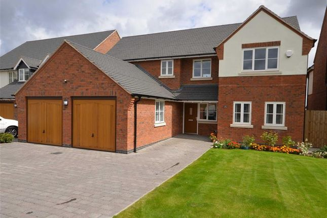 Thumbnail Detached house for sale in Lakes Edge, Eccleshall Road, Stone