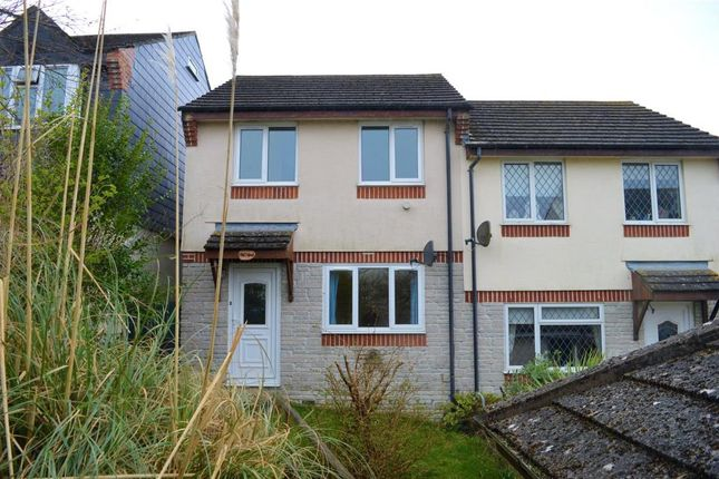 Thumbnail Semi-detached house to rent in Pound Park, Okehampton, Devon