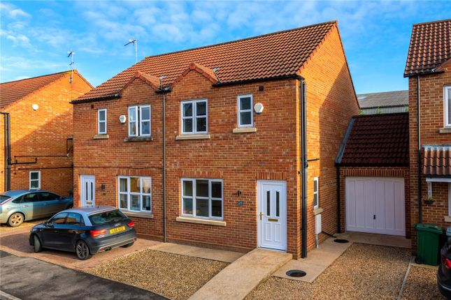 3 bed semi-detached house for sale in Hereward Way, Billingborough, Sleaford NG34