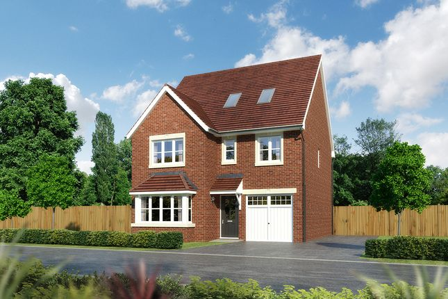 "Thumbnail Detached house for sale in ""Longrush"" at Moorfields, Willaston, Nantwich"