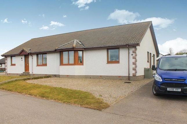 Thumbnail Semi-detached bungalow to rent in Monks Walk, Fearn