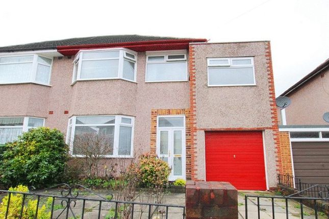 Thumbnail Semi-detached house for sale in South Barcombe Road, Childwall, Liverpool