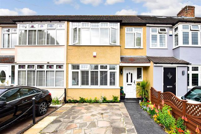 Thumbnail Terraced house for sale in Birch Crescent, Hornchurch, Essex