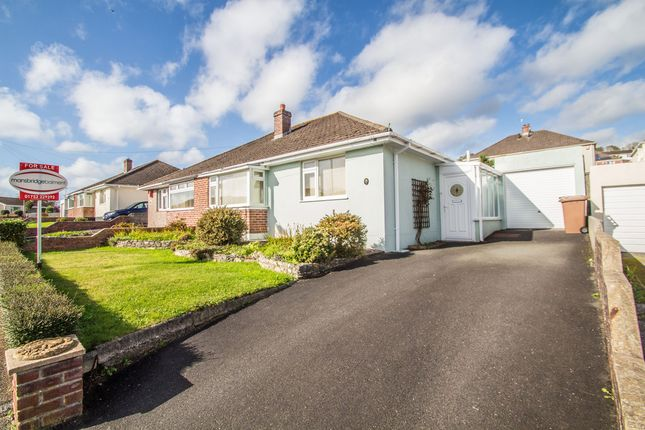Thumbnail Semi-detached bungalow for sale in The Mead, Plympton, Plymouth