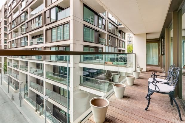 3 bed flat for sale in Trinity House, 375 Kensington High Street, London