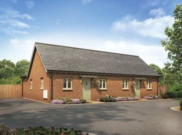Thumbnail Semi-detached bungalow for sale in The Willowbrook, Plot 15 Winchelsea Gate, Oundle Road, Weldon