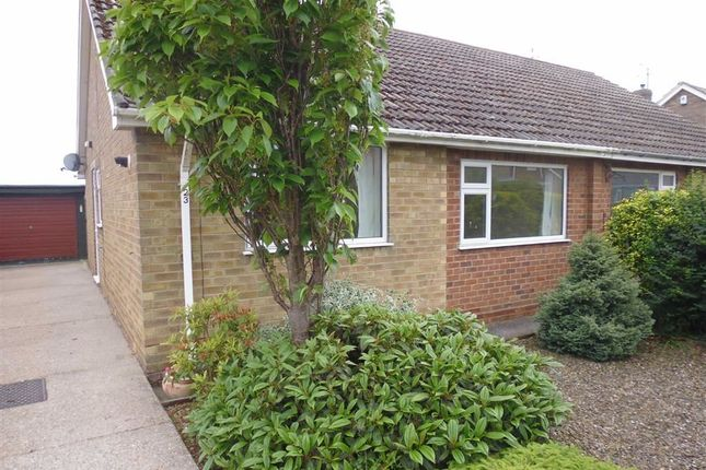 Thumbnail Semi-detached bungalow to rent in West Garth Gardens, Cayton, Scarborough