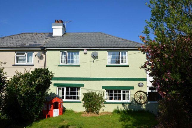Thumbnail Semi-detached house for sale in East Taphouse, Liskeard, Cornwall