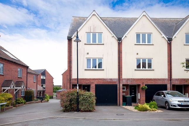 Thumbnail End terrace house for sale in Greenstone Road, Shaftesbury