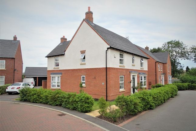 Thumbnail Detached house for sale in Slatewalk Way, Glenfield, Leicester