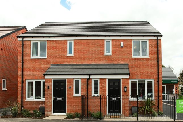 "3 bedroom semi-detached house for sale in ""The Hanbury"" at Ward Road, Clipstone Village, Mansfield"