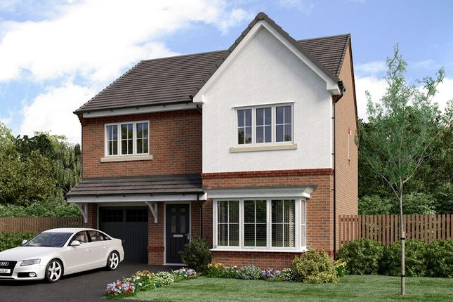 Thumbnail Detached house for sale in Heathlands, Sandbach
