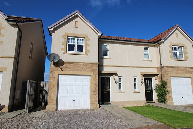 Thumbnail Semi-detached house for sale in Admirals Way, Inverness