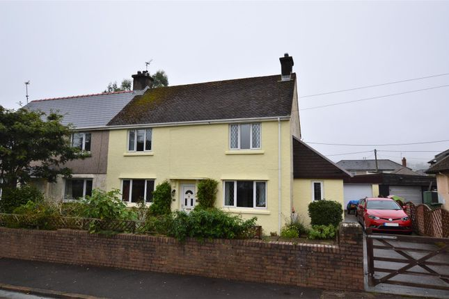 Thumbnail Semi-detached house for sale in South View, Llanharan, Pontyclun