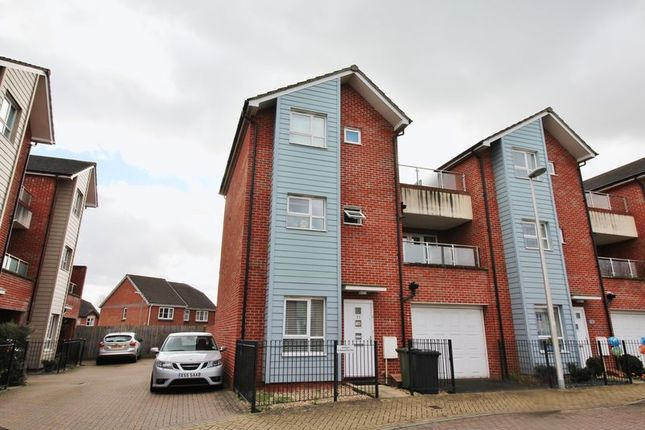 Thumbnail End terrace house to rent in Sanford Place, St. Thomas, Exeter