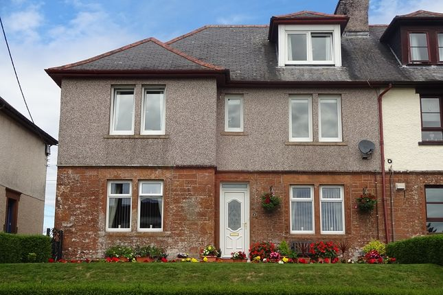 Thumbnail Maisonette for sale in Halliday Terrace, Lochmaben, Lockerbie, Dumfries And Galloway.