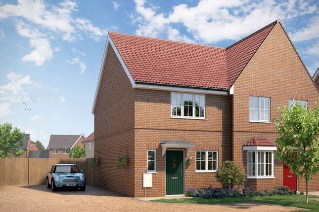 "Thumbnail Property for sale in ""The Sandown"" at Yarrow Walk, Red Lodge, Bury St. Edmunds"