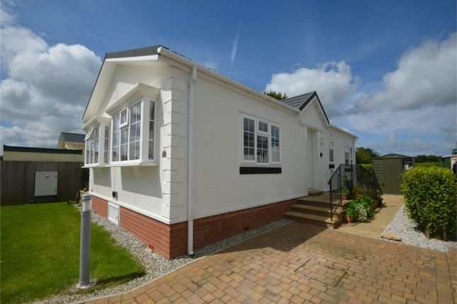 Thumbnail Mobile Park Home For Sale In Truro Heights Cornwall
