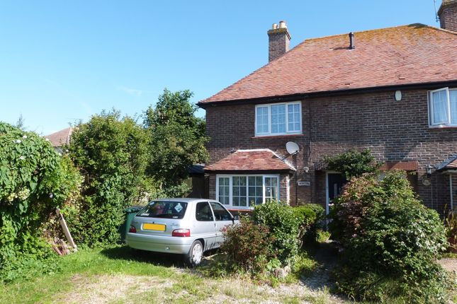 Thumbnail Semi-detached house for sale in Western Road, Selsey, Chichester