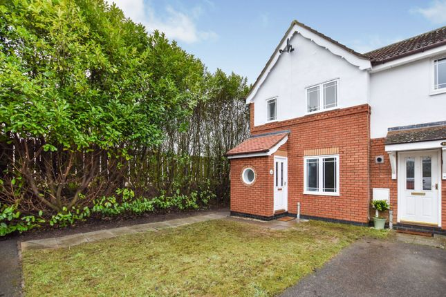 Thumbnail End terrace house for sale in Wentworth Drive, Dunholme