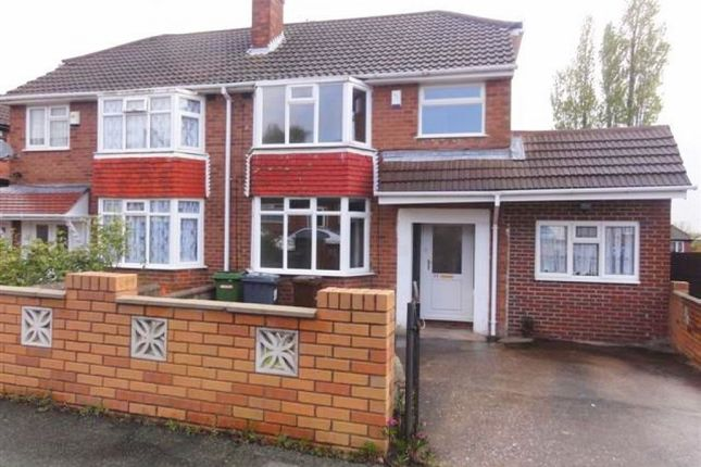 Thumbnail Semi-detached house to rent in Beverley Crescent, Lanesfield, Wolverhampton