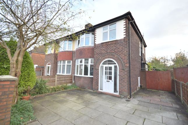 3 bed semi-detached house to rent in Wentworth Drive, Sale M33