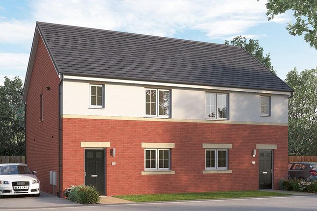 "Thumbnail Semi-detached house for sale in ""The Newbridge"" at Browney Lane, Browney, Durham"