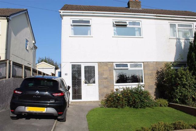 Thumbnail Semi-detached house for sale in Min Y Graig, Pontyberem, Llanelli