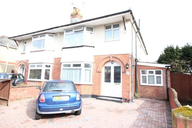 Thumbnail Semi-detached house for sale in Brookside Avenue, Southampton