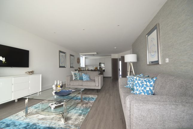 Thumbnail Flat for sale in Salterns Way, Lilliput, Poole