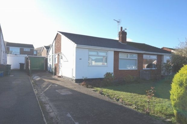 Thumbnail Semi-detached bungalow for sale in St. Davids Road, Abergele