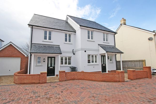 Thumbnail Semi-detached house for sale in Jackson Meadow, Lympstone, Exmouth