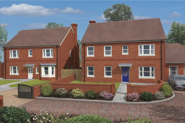 Thumbnail Detached house for sale in Houghton, Stockbridge, Hampshire
