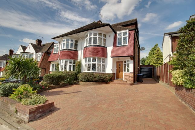 Thumbnail Semi-detached house for sale in Holly Hill, Winchmore Hill