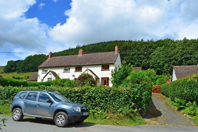 Thumbnail Semi-detached house for sale in Llaneglwys, Llaneglwys, Builth Wells, Powys