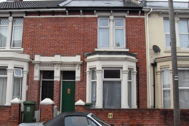 Thumbnail Terraced house to rent in Sheffield Road, Portsmouth, Hampshire