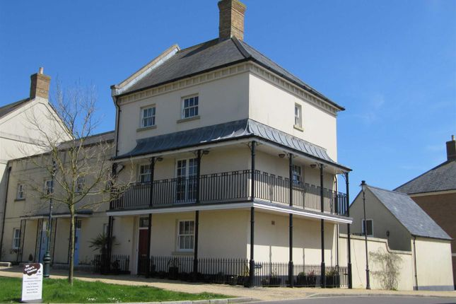 Thumbnail Town house for sale in Peverell Avenue West, Poundbury, Dorchester