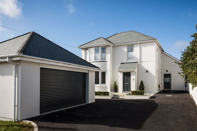 Thumbnail Detached house for sale in Trethellan Hill, Newquay