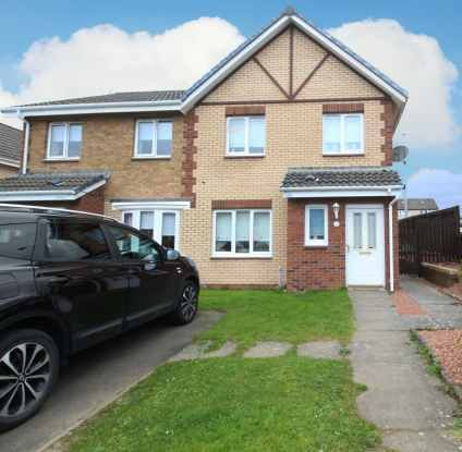 Thumbnail Semi-detached house for sale in Horatius Street, Motherwell, Lanarkshire