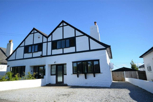 Thumbnail Semi-detached house for sale in Gloweth Villas, Truro, Cornwall