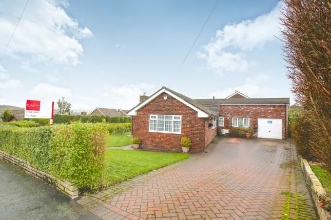 Thumbnail Bungalow for sale in Counting House Road, Disley, Stockport, Cheshire