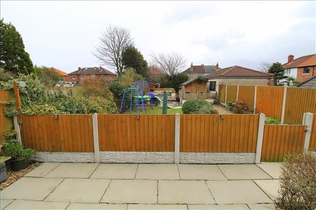 Rear Garden of Shaws Road, Southport PR8