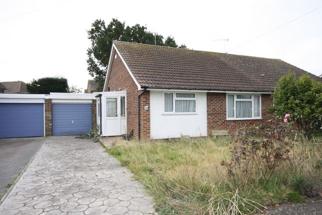 Thumbnail Semi-detached bungalow for sale in The Glades, Bexhill-On-Sea