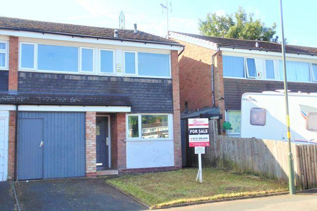 Thumbnail Semi-detached house for sale in Derry Close, Birmingham