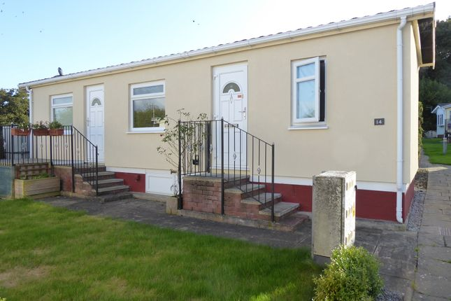 Thumbnail Mobile/park home for sale in The Vicarage Park, Coast Road, Holywell, Flintshire, Wales