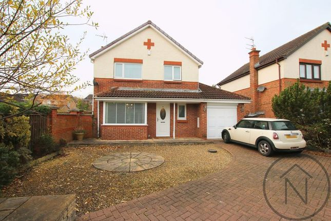 Thumbnail Detached house for sale in Sorrel Wynd, Newton Aycliffe