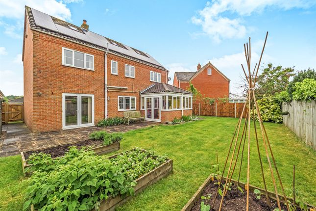 Thumbnail Detached house for sale in Marshall Howard Close, Cawston, Norwich