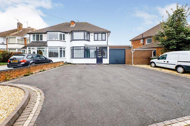 Thumbnail Semi-detached house for sale in Meriden Drive, Kingshurst, Birmingham
