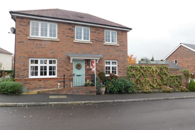 Thumbnail Detached house for sale in Newman Drive, Church Gresley